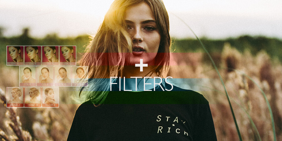 How To Add Filters Using Text On Photos