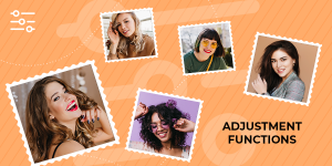 How To Use Other Adjustment Functions Of Collage Maker