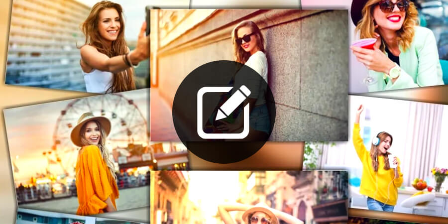 How To Edit Collage Using Blend Collage