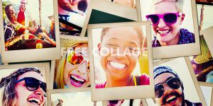 How To Make Free Collage Photo Using Blend Collage